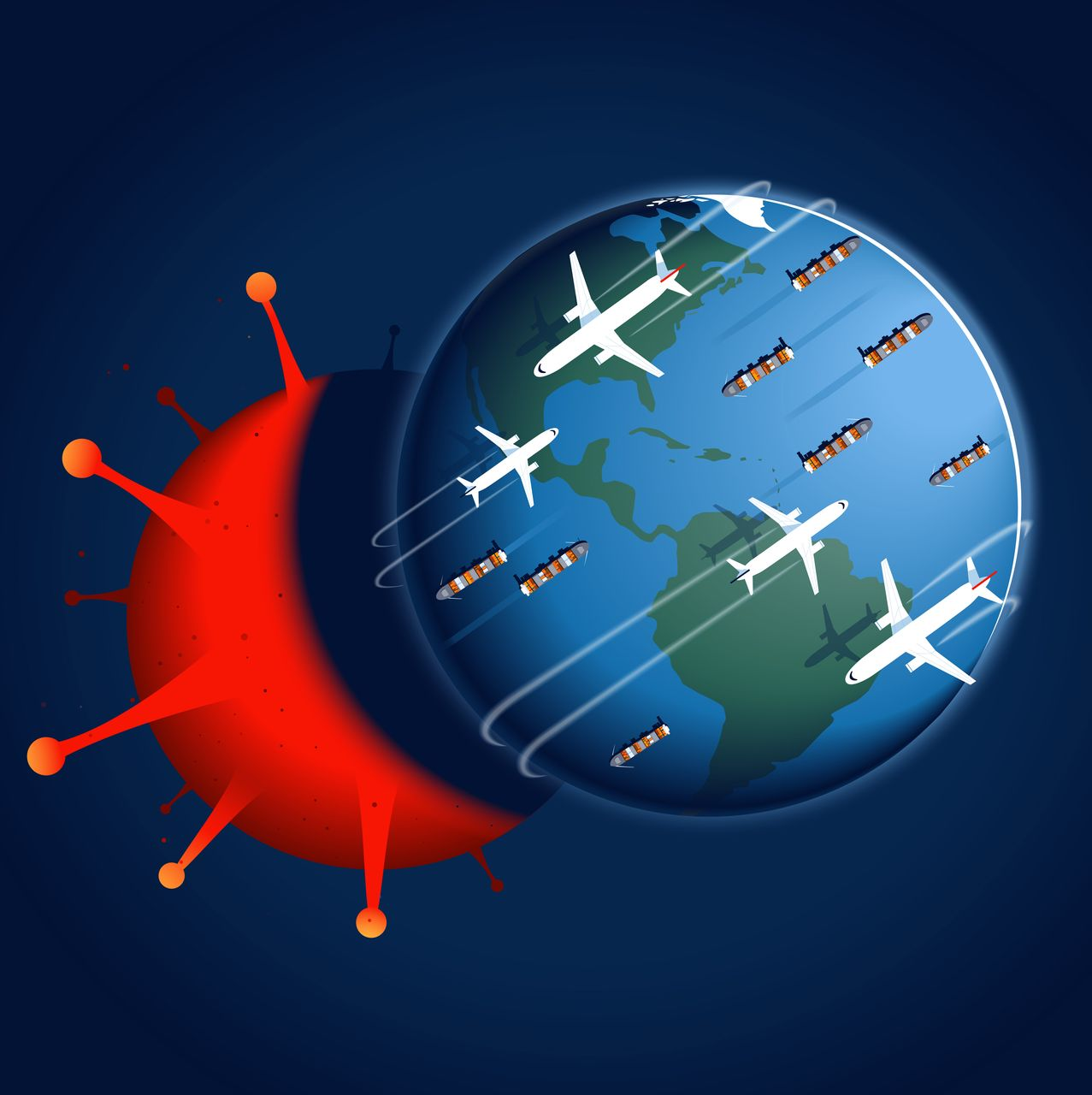 Impact of global Covid-19 lockdowns on study abroad