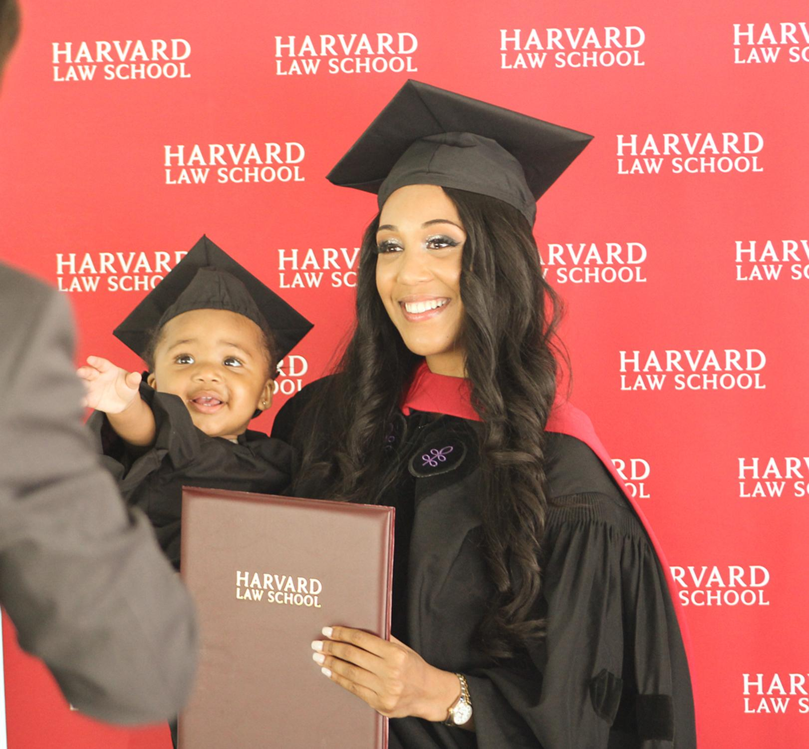 24-Year-Old Single Mom Graduated With a Harvard Law Degree