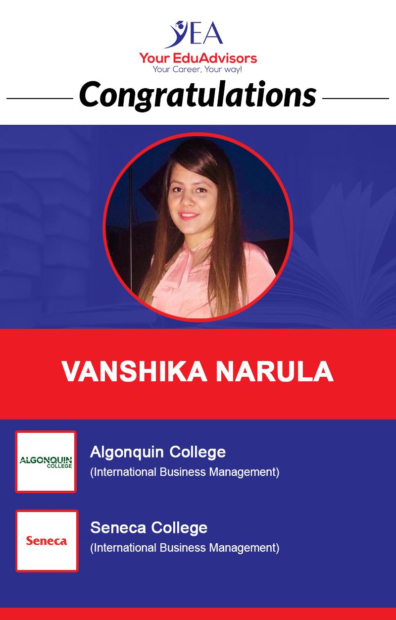 Vanshika Narula